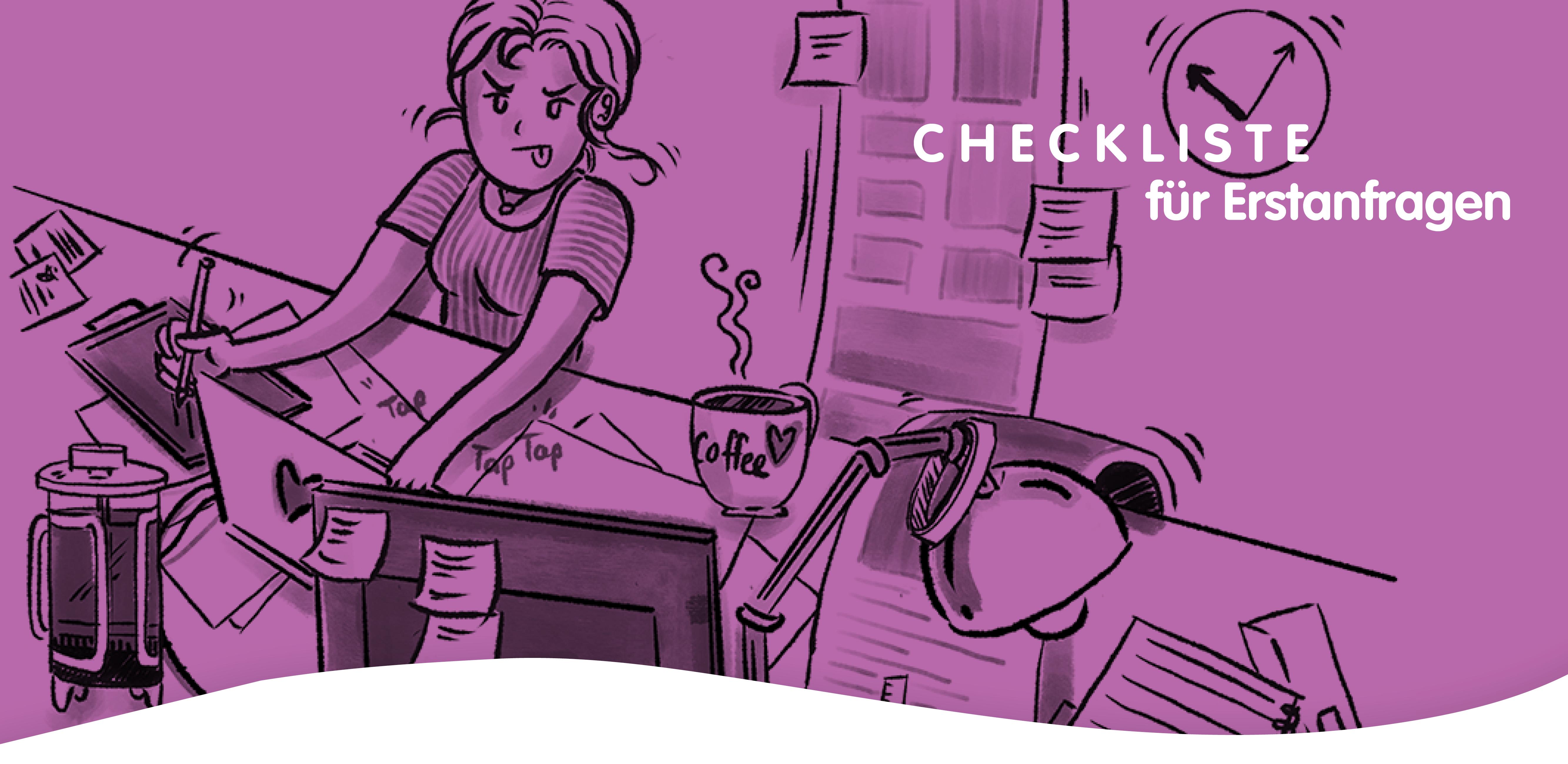 01_Header Blog_Checkliste Erstanfragen_MEAU DESIGN_Melanie Austermann_Illustration_Grafikdesign