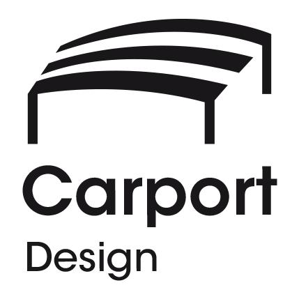 Carport-Design_Logovariation1_schwarz_Logogestaltung_Logodesign_Melanie-Austermann_Meau-Design_Illustration_Grafikdesign