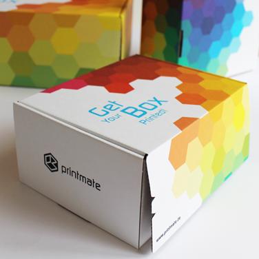 Vorschaubild für Portfoliobeitrag Printmate, Verpackungsdesign Sampleboxen