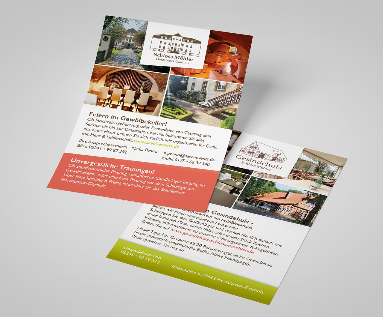 Werbemittel und Corporate Design, Flyer