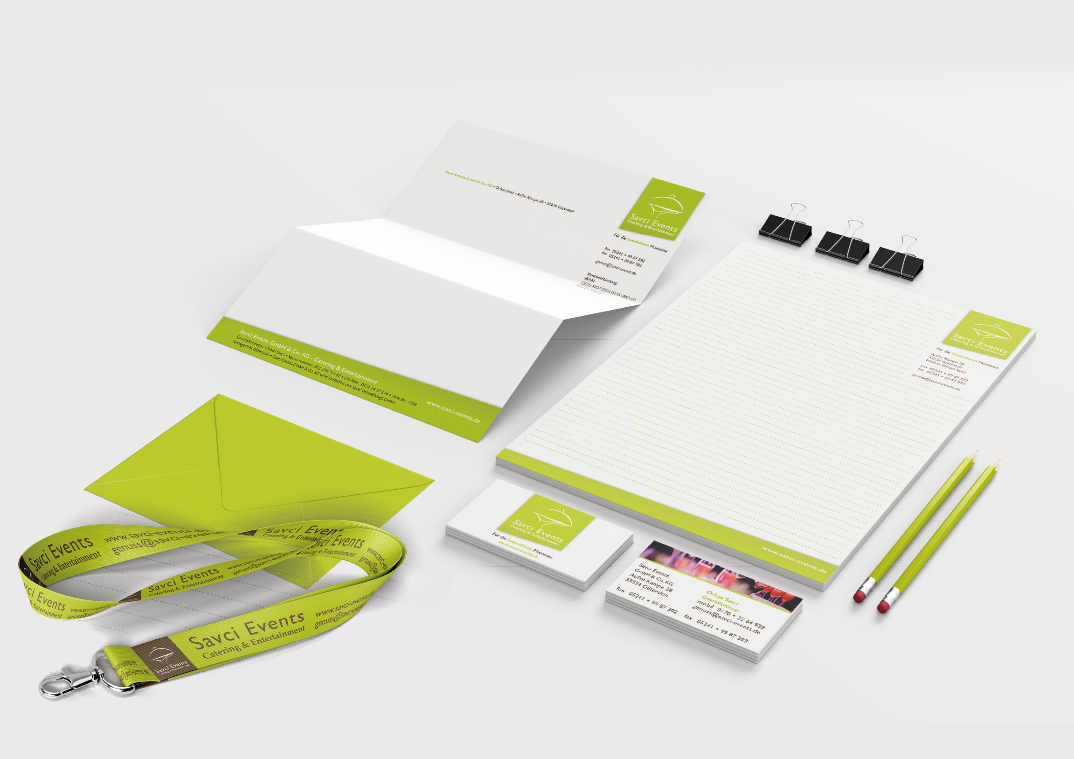 MEAU DESIGN - farbenfrohe Illustrationen und aufgeräumte Grafikdesigns - Vorschaubild Portfolio, Referenzen Savci Events Werbemittel, Geschäftsaussattung, Corporate Design, Logodesign etc.