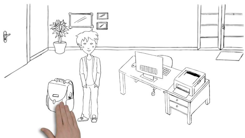 Melanie Austermann_MEAU DESIGN_Illustrator_Erklärvideo Cultina-Mensa-Chip1