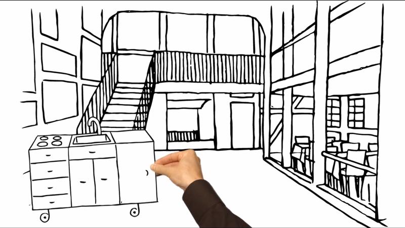 Melanie Austermann_MEAU DESIGN_Illustrator_Erklärvideo-Live-Dinner6