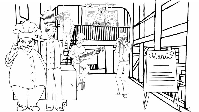 Melanie Austermann_MEAU DESIGN_Illustrator_Erklärvideo-Live-Dinner9