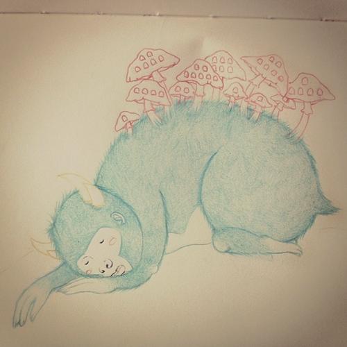 Sleepy-Monster-wip-Meau-Design