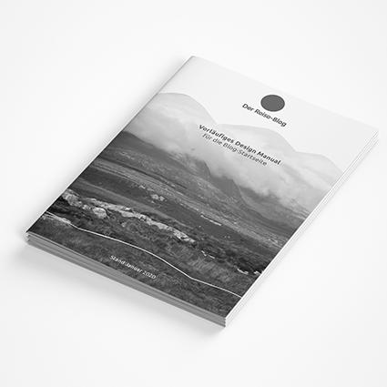 MEAU DESIGN - farbenfrohe Illustrationen und aufgeräumte Grafikdesigns - Vorschaubild Portfolio, Referenzen, Reise-Blog, Tourismusbranche, Corporate Design Manual, Design Manual, Design Leitfaden
