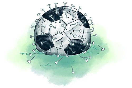 Ava und Franz_Coronavirus-Fußball_Buchillustration_Kinderbuchillustration_Meau-Design_Melanie-Austermann_Grafikdesign_Illustration