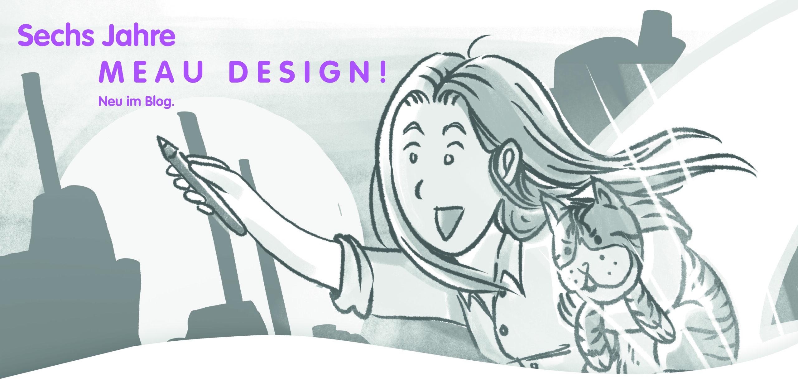 03 6 Jahre MEAU DESIGN_Blog_Melanie Austermann_Illustration_Grafikdesign_sw